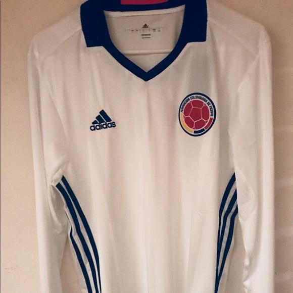 ecf99b4b0d9 adidas Shirts | Bnwt Ls Colombia Away Jersey | Poshmark